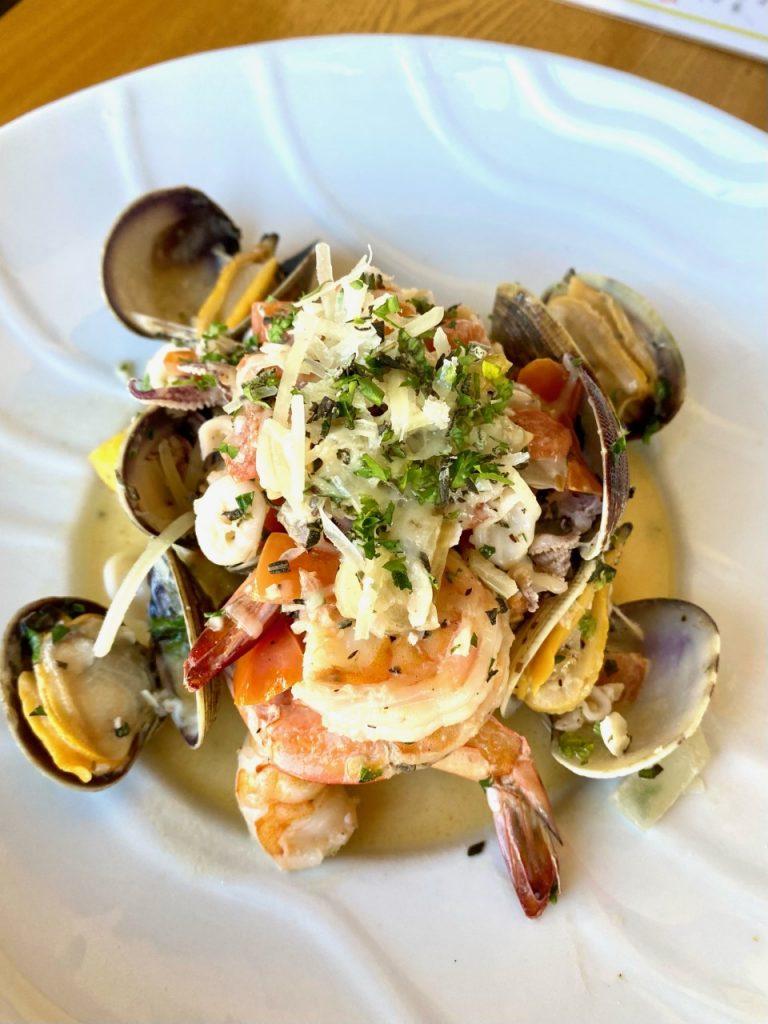 Tuscan Seafood Sauté